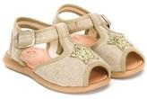 Pépé sequin star sandals