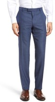 BOSS Men's T-Court Slim Fit Flat Front Solid Wool Trousers