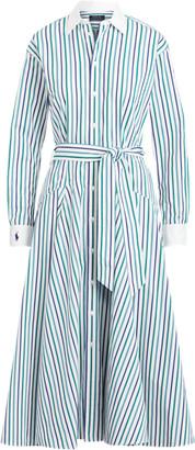 Ralph Lauren Cotton A-Line Shirtdress