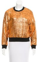 3.1 Phillip Lim Metallic Sweatshirt