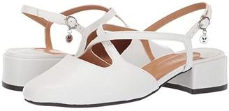 J. Renee Petara (White) Women's 1-2 inch heel Shoes