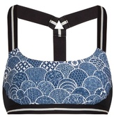 The Upside Shimoda-print performance bra