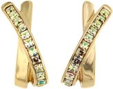 Aurora Gold plated kiss earrings