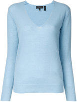 Theory cashmere V-neck jumper - women - Cashmere - L