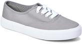Wet Seal Gray Lopro Platform Sneaker
