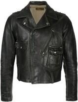 Harley-Davidson Fake Alpha Vintage 1940s motorcycle jacket