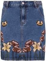 Glamorous Denim skirt mid blue
