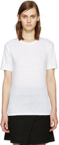 Etoile Isabel Marant White Linen Keiran T-Shirt
