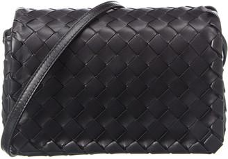 Bottega Veneta Intrecciato Weave Leather Shoulder Bag