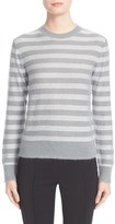 Valentino Women's Metallic Stripe Sweater