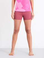 adidas by Stella McCartney Hot Yoga microfiber shorts