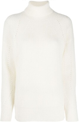 Twin-Set Roll-Neck Knitted Jumper