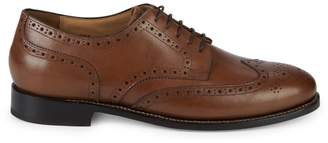 Nettleton James Leather Wingtip Derby Shoes