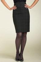 'Miss Gina' Glen Plaid High Waist Skirt