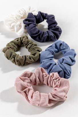 francesca's Delina Cupro Scrunchie Set - Multi