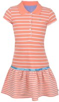 "Nautica Big Girls' ""Boardwalk"" Pique Polo Dress"