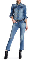 William Rast Flare Crop Jean
