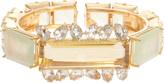 Bounkit Citrine & Crystal Gold Braclet