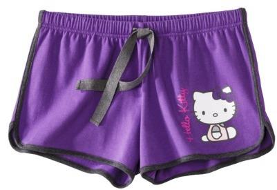 Hello Kitty Juniors Sleep Short - Purple
