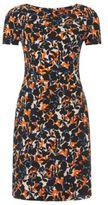 Hugo Boss Katys Viscose Printed Sheath Dress 4 Patterned