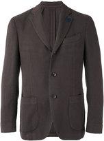 Lardini classic blazer - men - Cotton/Polyester/Viscose - 48