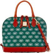 Dooney & Bourke NFL Jets Zip Zip Satchel