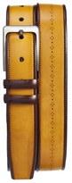 Mezlan Men's Ascot/diver Leather Belt