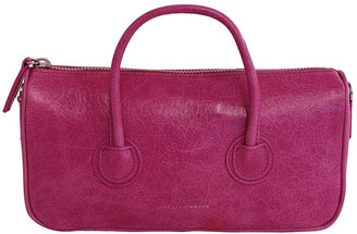 Marge Sherwood Zipper S Leather Top Handle Bag