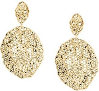 Aurélie Bidermann Vintage Lace clip-on earrings