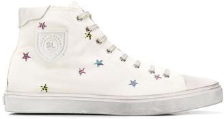 Saint Laurent Bedford star-print sneakers