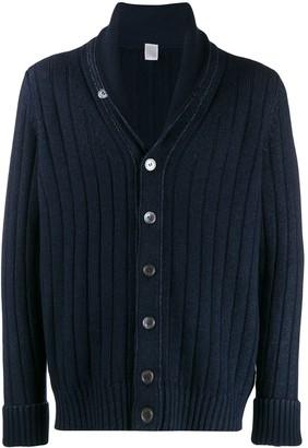 Eleventy ribbed knit cardigan