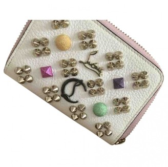 Christian Louboutin White Leather Purses, wallets & cases