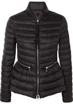 Moncler Quilted Shell Down Jacket - Black