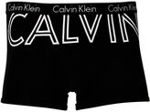 Calvin Klein Graphic Cotton Trunk Black