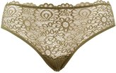 Charlotte Russe Plus Size Lace-Front Hipster Panties