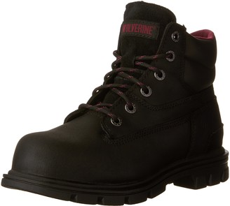 """Wolverine womens Belle 6"""" CSA Safety Boot industrial and construction shoes"""