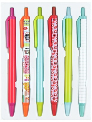 Beacon Craft 6 Pack Ballpoint Pens - Visco Collage