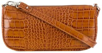 BY FAR Crocodile Embossed Tote Bag