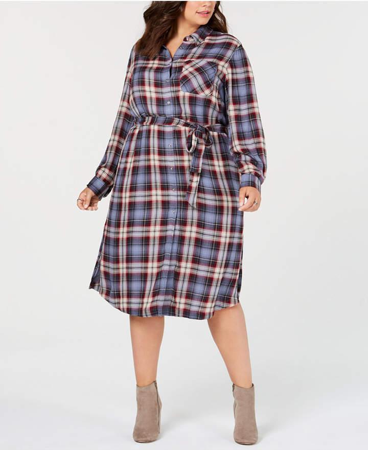 Plus Size Shirt Dress - ShopStyle