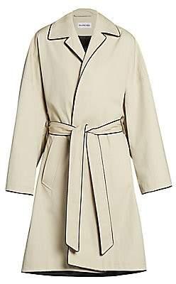 Balenciaga Women's Short Cocoon Coat