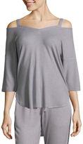 Ambrielle 3/4 Sleeve Pajama Top
