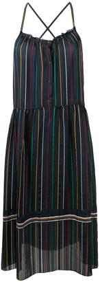 Rag & Bone Austin striped midi dress