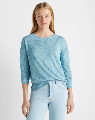Club Monaco Linen Boatneck Sweater