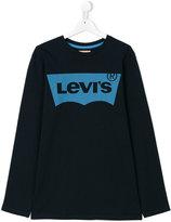 Levi's Kids - logo print top - kids - Cotton - 14 yrs
