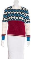 Sea 2016 Wool Patterned Sweater w/ Tags