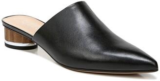 Franco Sarto Viola Leather Block Heel Mule