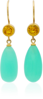 Mallary Marks Apple & Eve Yellow Sapphires Earrings
