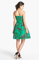 Betsey Johnson Print Fit & Flare Dress