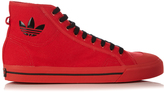 adidas Matrix Spirit high-top canvas trainers