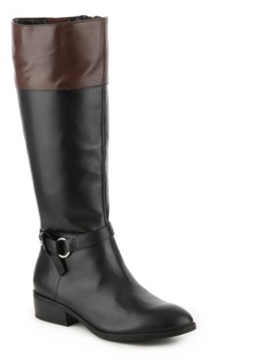 Lauren Ralph Lauren Makaila Wide Calf Riding Boot